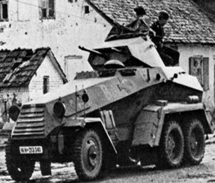 Sd kfz 231 6 rad schwere panzersp 228 hwagen