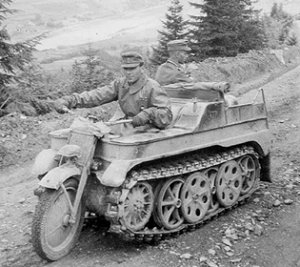 Sd.Kfz. 2 Halftracks
