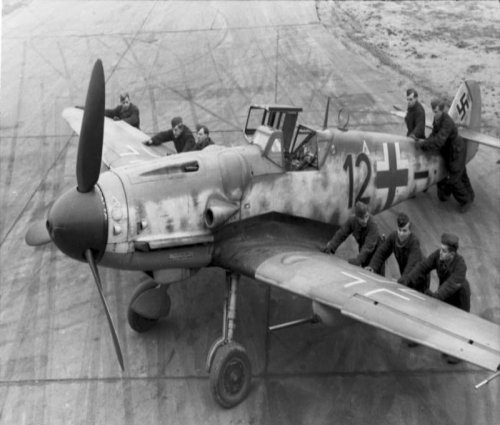 Messerschmitts Bf 109's