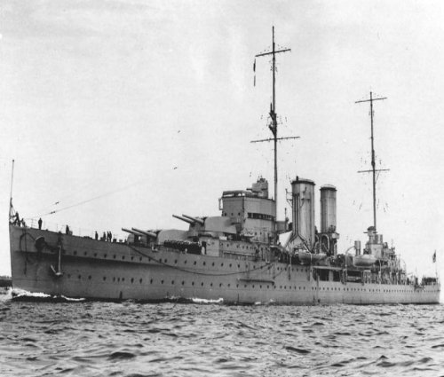 HMS Exeter picture 1